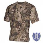 Környakú taktikai póló (3-féle minta)