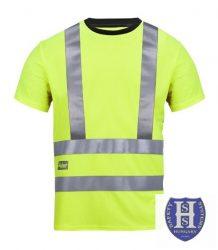 2543 Snickers Láthatósági A.V.S. T-Shirt, Class 2/3