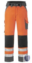3639 High-Visible winter  trousers, Class 2