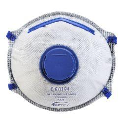 FFP2 aktívszenes szelepes Dolomit légzésvédő maszk (10 db)